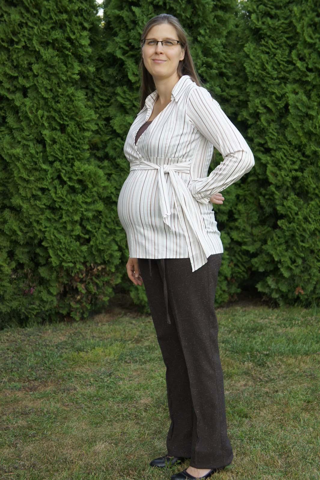 Mommy Style átlapolt kismama ing