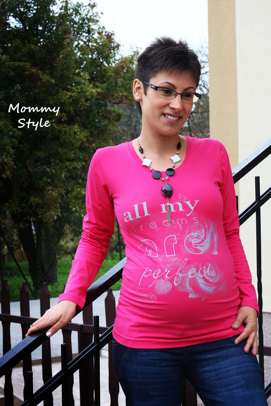 7aed01127b Mommy Style | Mommy Style Az én álmom tökéletes kismama póló