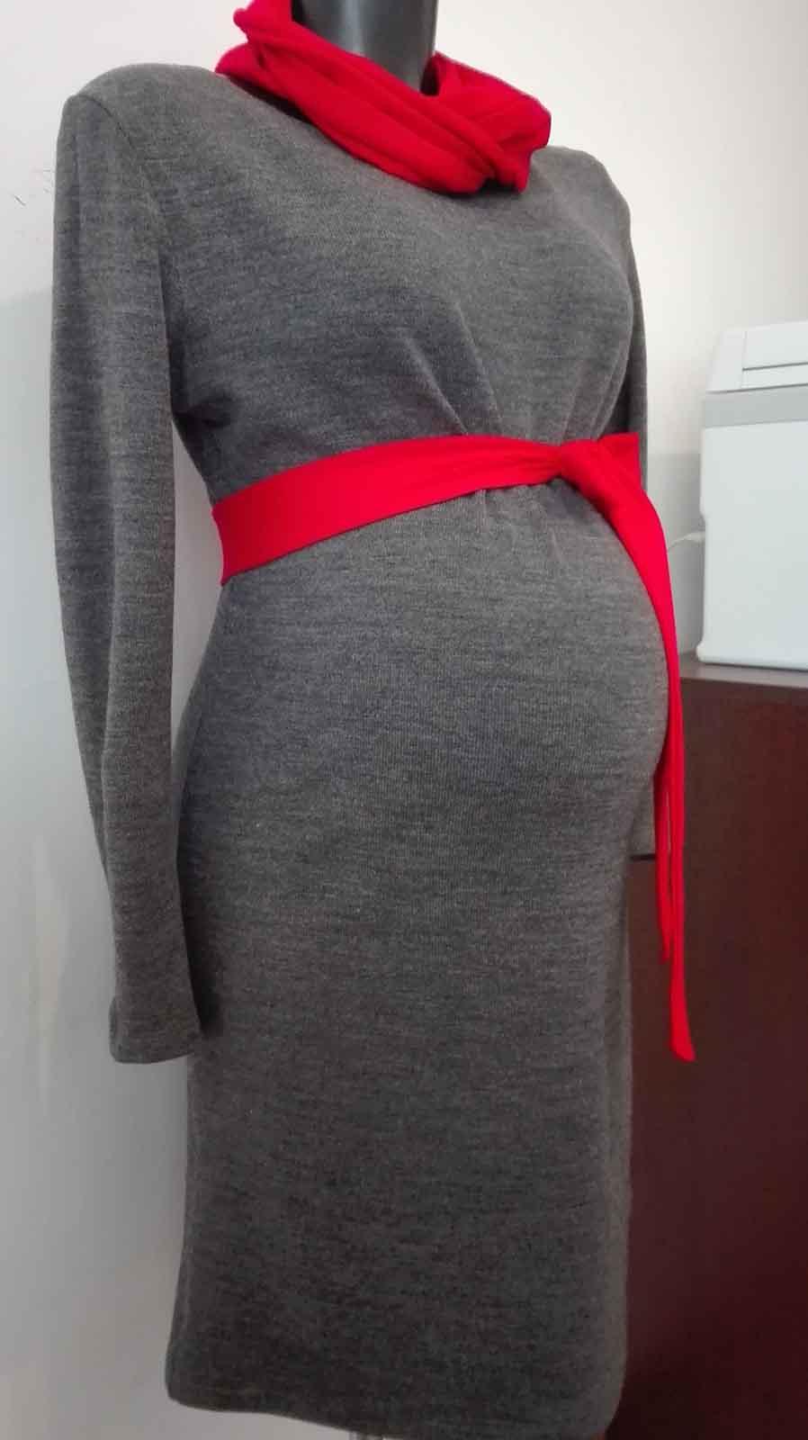 Mommy Style kismama kötött ruha