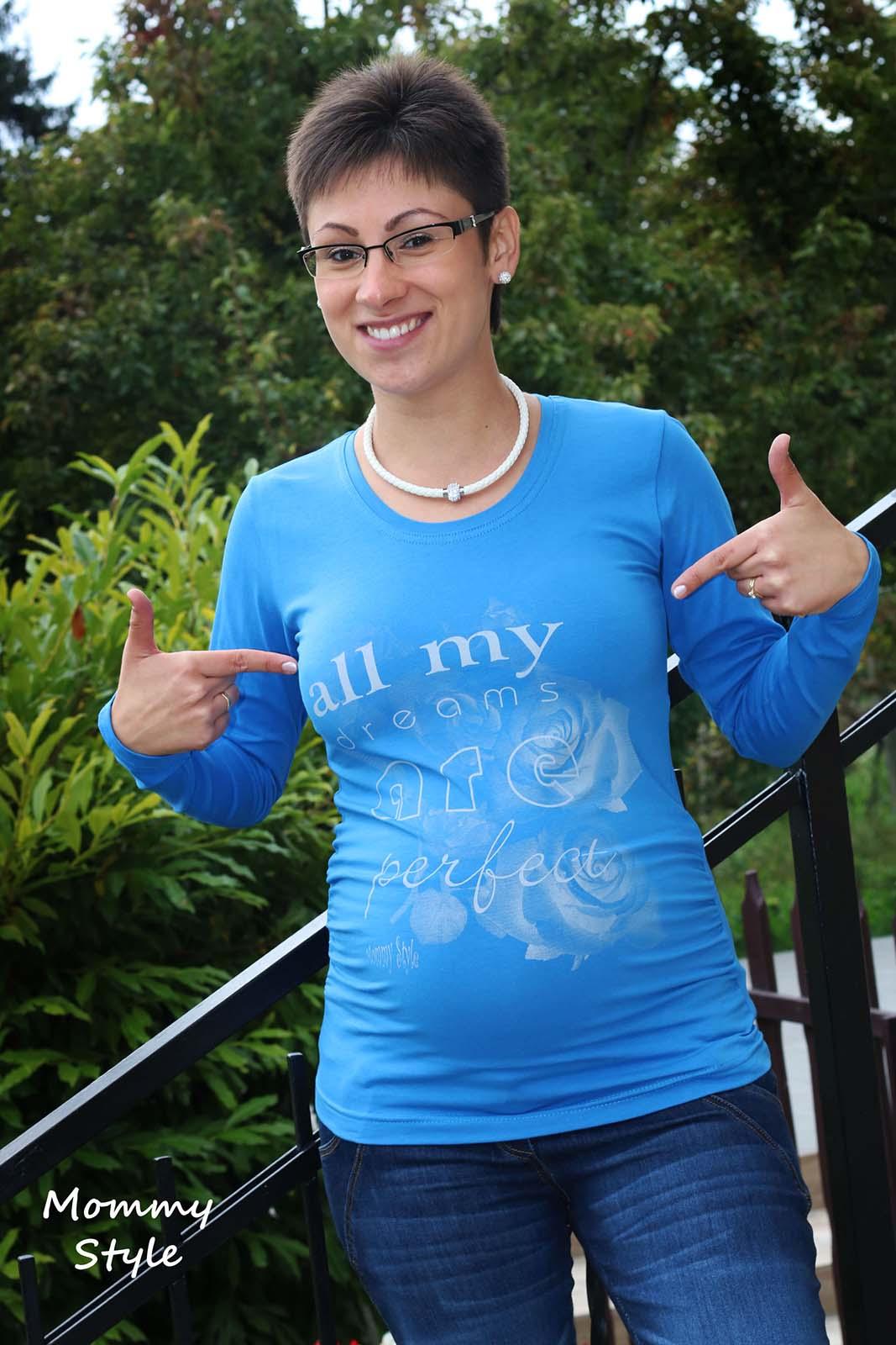 526a0b8f93 Mommy Style Az én álmom tökéletes kismama póló ...