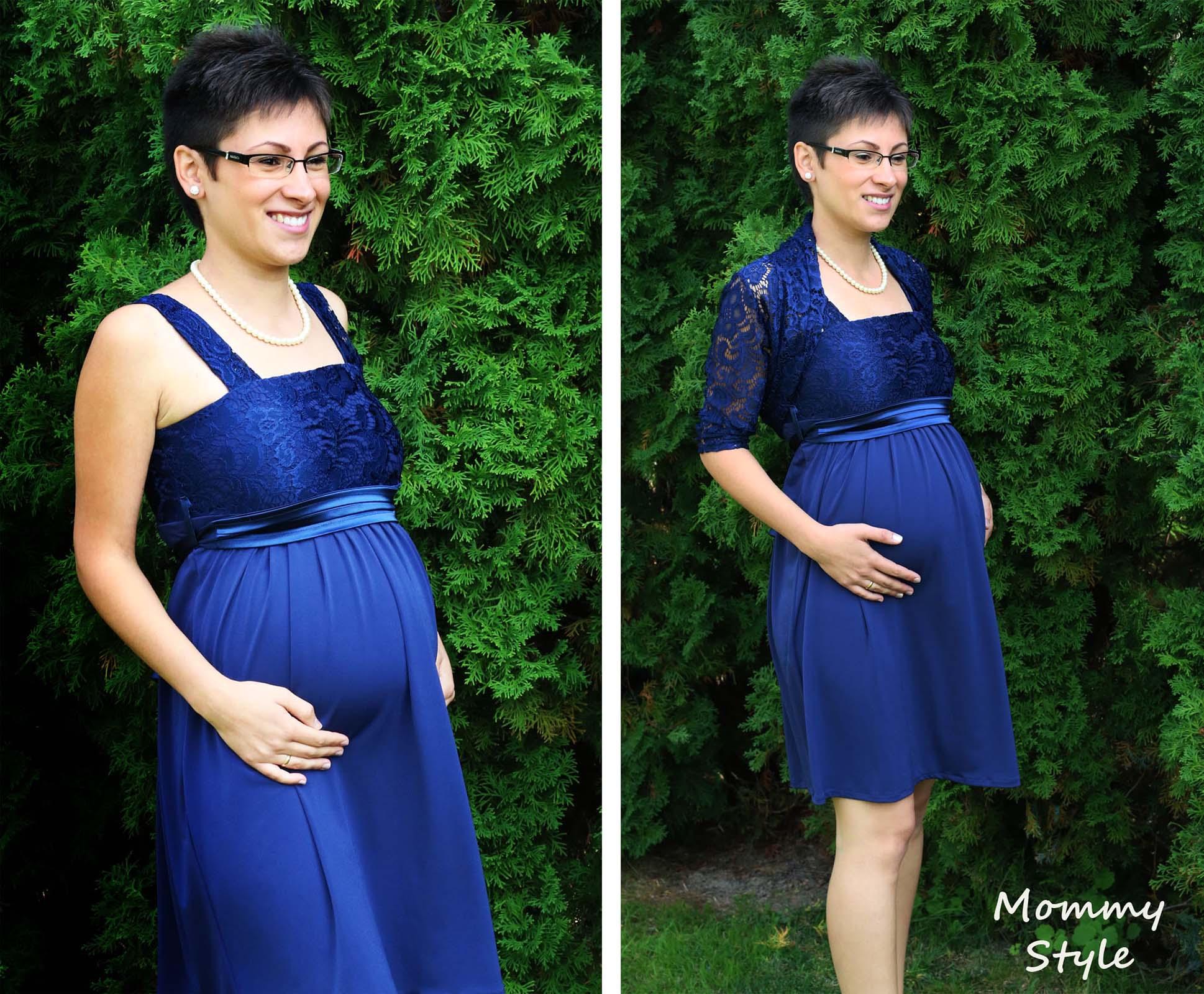 Mommy Style csipke bolerós kismamaruha