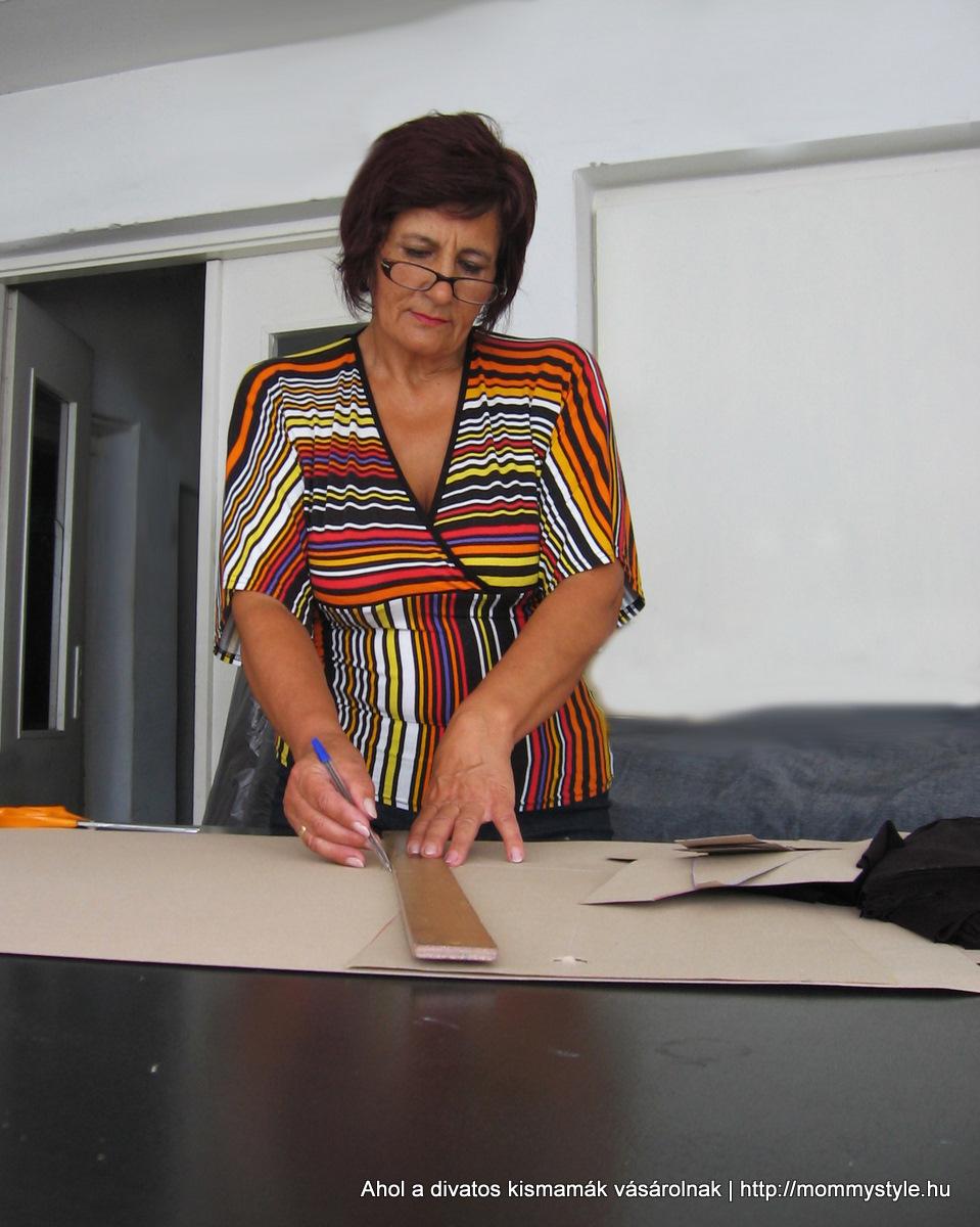 Mommy Style kismamaruha készítés munka közben