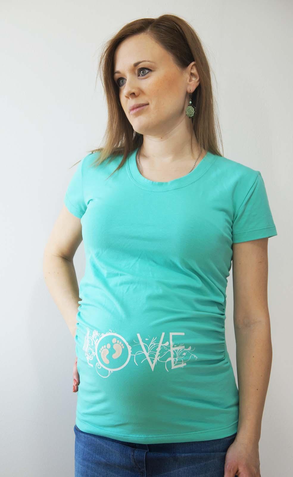Mommy Style LOVE kismama póló