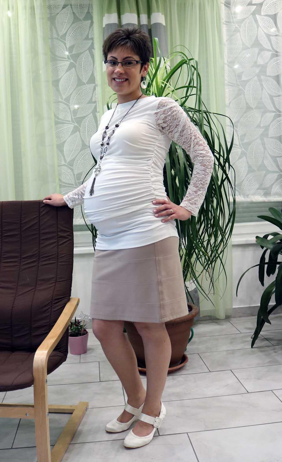 Mommy Style alkalmi kismamafelső