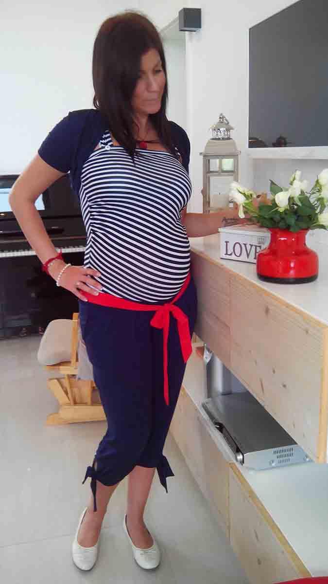 Mommy Style matróz overál