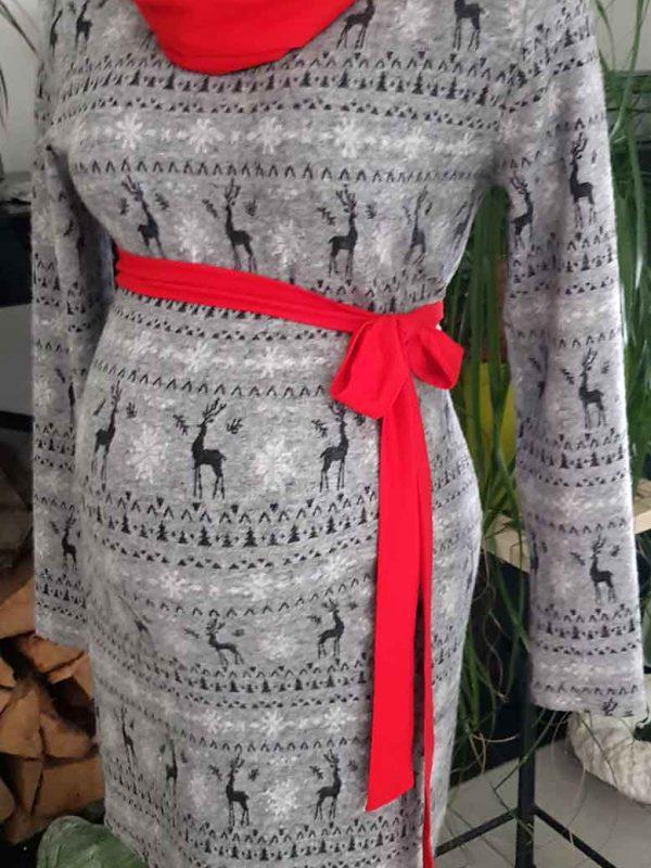 Mommy Style karácsonyi kötött ruha